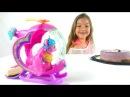 Мой маленький пони видео с игрушками. Сюрприз для Поли. Лепим торт для Пинки Пай.