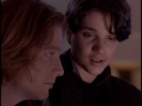 Eric Stoltz and Ralph Macchio kiss- Naked in New York (1993)