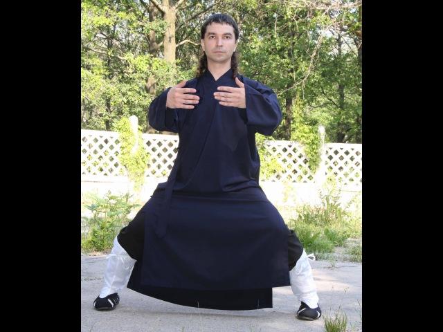 Столбовая работа в Традиционном Даосизме. Внутренняя структура тайцзицюань - часть 1