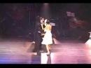 Stage Tango. Eduardo Cappussi and Mariana Flores (La Cumparsita)