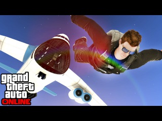 GTA 5: Online - Multiplayer Fun (Cargo Plane Stunts, Boat Glitch, King of The Hill) | 22nd June 2015