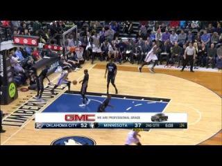 HD Oklahoma City Thunder vs Minnesota Timberwolves | Full Highlights | December 12, 2014 | NBA