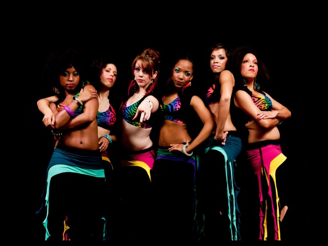 Hip Hop Belly Dance - Tribal Fusion - Ebony and Raqs Caravan Urban - Rakkasah Spring Caravan