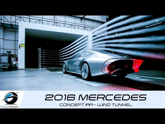 2016 Mercedes Benz Concept IAA | WIND TUNNEL