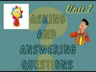 Спрашиваем и отвечаем. Английский язык для детей. Серия 1. Урок 7.