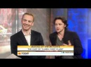 X-Men: First Class Cast on Today James McAvoy Michael Fassbender