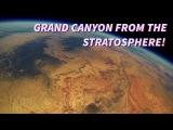 Видео с камеры GoPro, прикрепленной к метеозонду.