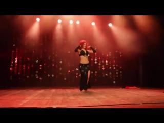 Weronika SAHAR Litwin - taniec brzucha _ Batorowy Wieczór Orientalny, CHORZÓW