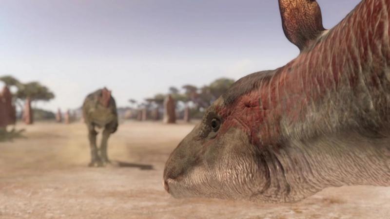 Планета динозавров. BBC: 4-серия