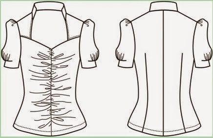 Технология Пошива Блузки Из Купона