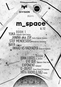 m_space * Yuka, Janina, Stef Mendesidis