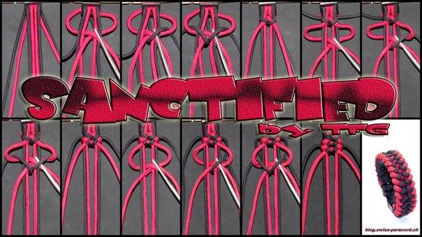 Шнуры плетение узлы