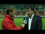 Интервью главного тренера Терек:Рашид Рахимов для канала Наш Футбол