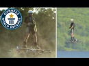 Farthest flight by hoverboard Guinness World Records