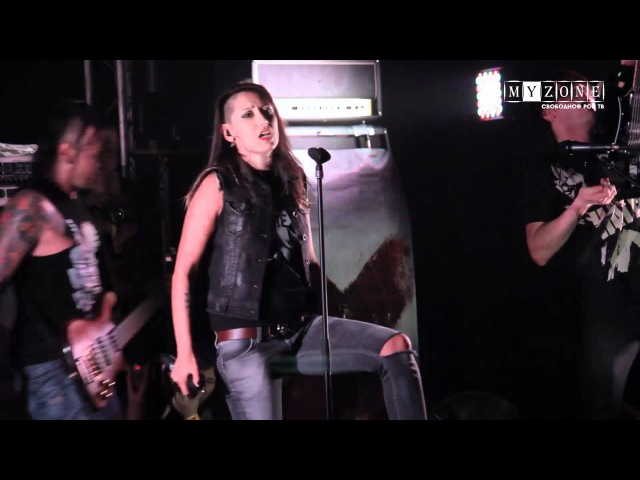 Концерт группы Louna на MyZONE-TV
