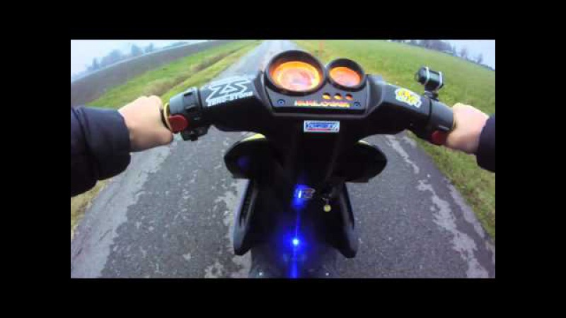 Aerox DR 70cc wheelie and top speed