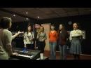 Джазовая распевка и вокальные упражнения для ансамбля.