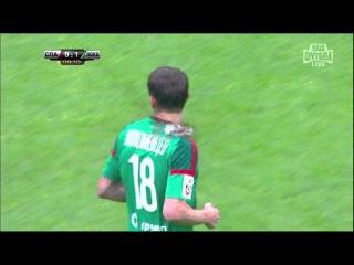 Спартак 0 - 1 Локомотив. РФПЛ. 12-й тур. Гол Коломейцев 9'