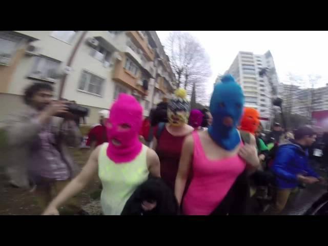 Pussy Riot - Putin will teach you how to love / Путин научит тебя любить Родину