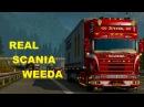 Euro Truck Simulator 2 REAL Scania 124l Weeda HOLLAND