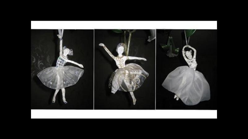 DIY Балерины из солёного теста своими руками Мастер класс