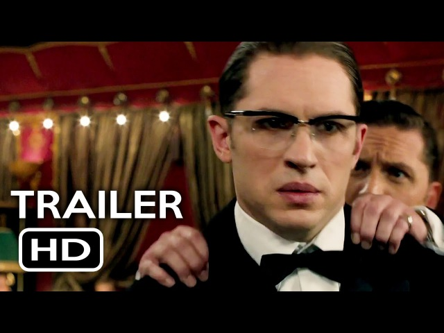 Legend Official Trailer 1 (2015) Tom Hardy, Emily Browning Crime Thriller Movie HD