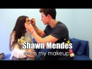 Shawn Mendes Does My Makeup CHALLENGE responding to Justin's shady comment? | 730.no - 18 september 2015 year