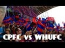 Crystal Palace vs West Ham United! Feat. Holmesdale Fanatics Display.