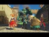 Dragon Quest Heroes - 13 минут геймплея (PS4) [JP]