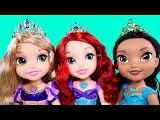 New Disney Princess Sing and Shimmer Dolls Ariel Rapunzel Jasmine DCTC Toy Doll Collection