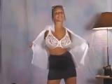 Christina Model (Christina Lucci) в костюме секретарши