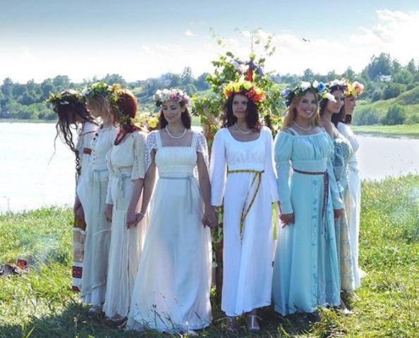Славянские женщины