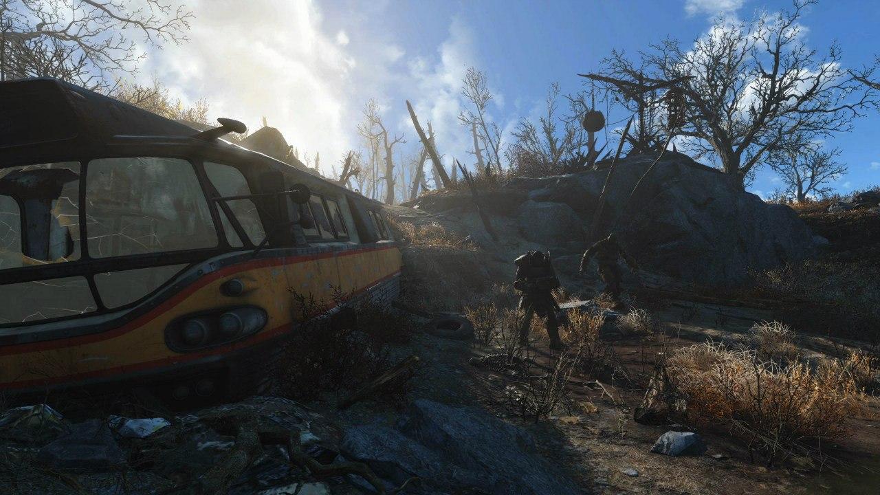 На каких настройках вы играете в Fallout4