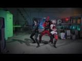 JOKER HARLEY QUINN DEADPOOL DOMINO - DANCE OFF (Перезалив)
