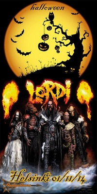 Lordi Halloween party 01/11/14 Helsinki