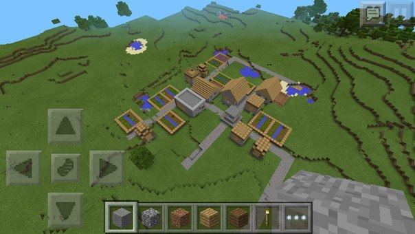 Карта Майнкрафт Село - YouTube