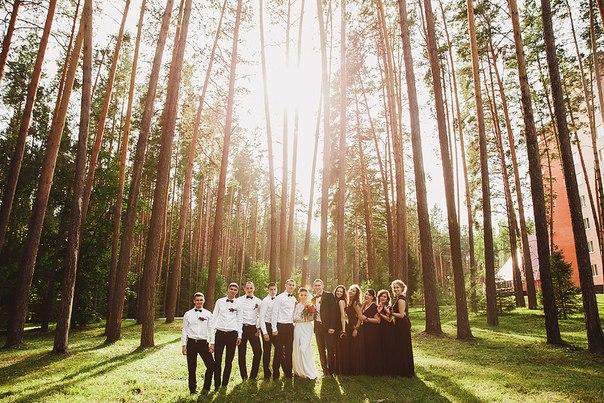 фотографии с гостямин на свадьбе