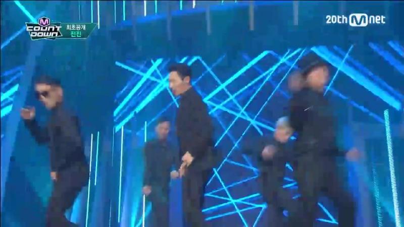 Jun Jin(전진) - Wow Wow Wow COMEBACK Stage M COUNTDOWN 150910 EP.442