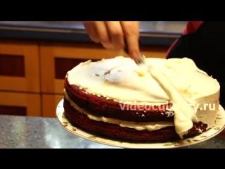Рецепт - Торт Красный бархат от Бабушки Эммы.