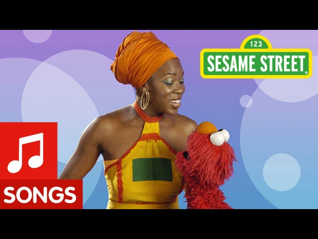 Sesame Street: The Alphabet With Elmo and India Arie Классика!