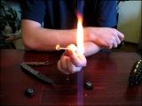 Компас с горючим для браслетов из паракорда с Н.А.З.