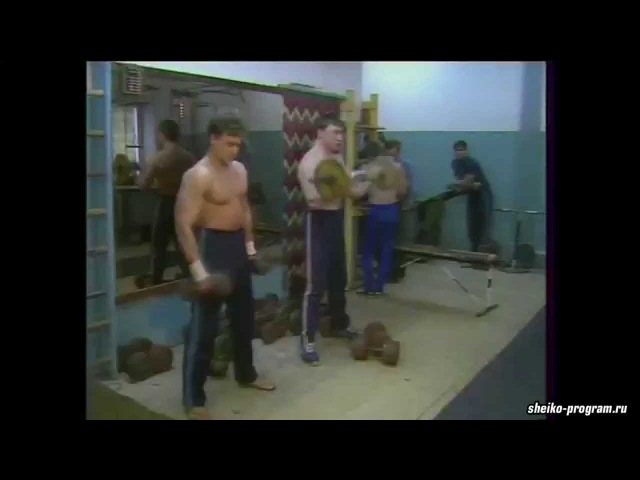 80's Bodybuilding Scene in the USSR / Качалки СССР в 80-х