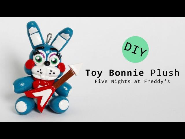 Five Nights at Freddy's 2 Toy Bonnie Plush Polymer Clay Tutorial