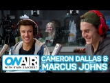 Cameron Dallas and Marcus Johns Talk Vine Success | On Air with Ryan Seacrest