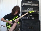 Chris Impellitteri Shredding Guitar Solo as Fast as he can play !