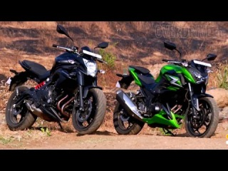 2015 Kawasaki ER-6n and Z250 - First Ride Review (India)