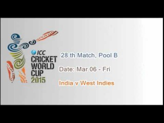 ICC Cricket World Cup 2015 Schedule  All Match Fixtures