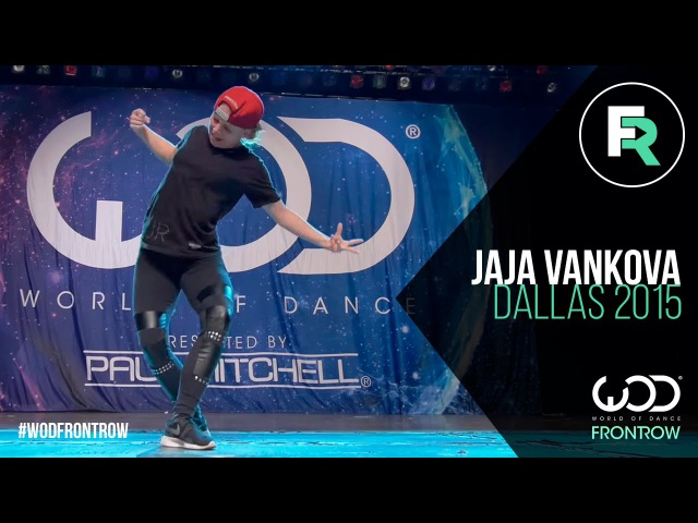 Jaja Vankova | FRONTROW | World of Dance Dallas 2015 WODDALLAS2015