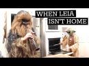 When Mama Isn't Home When Mom Isn't Home When Leia Isn't Home Star Wars