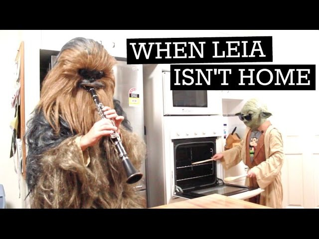 When Mama Isnt Home When Mom Isnt Home When Leia Isnt Home (Star Wars)